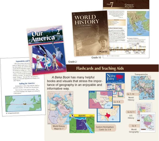 Geography subjects for college history