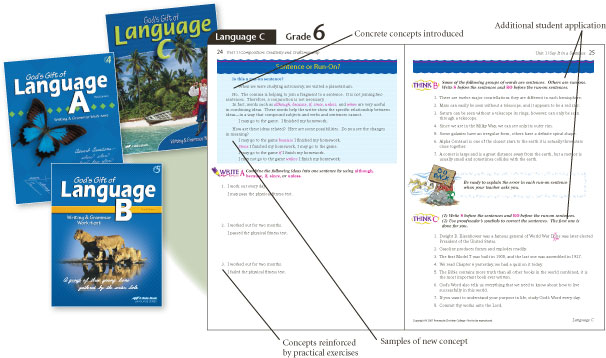 Language Book Example