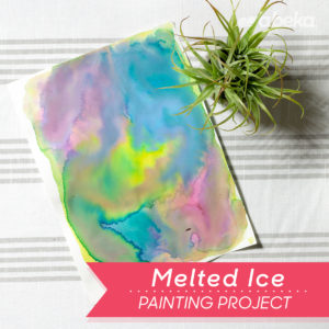 Melted Ic Painting
