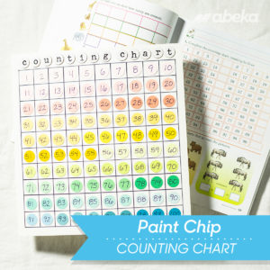 Paint Chip Counting Chart