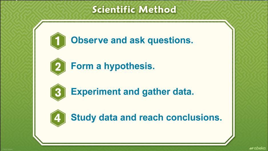 Scientific Method Illustration