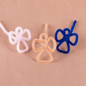 angel-shaped pipe cleaners